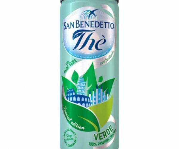 студен чай Сан Бенедето 330мл Зелен с Алое вера КЕН p1