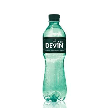 газирана натурална минерална вода Девин 300мл AIR p1
