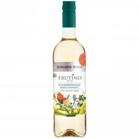 вино Домейн Бойар 750мл БИТЪР Шардоне с 23 билки и грейпфрут