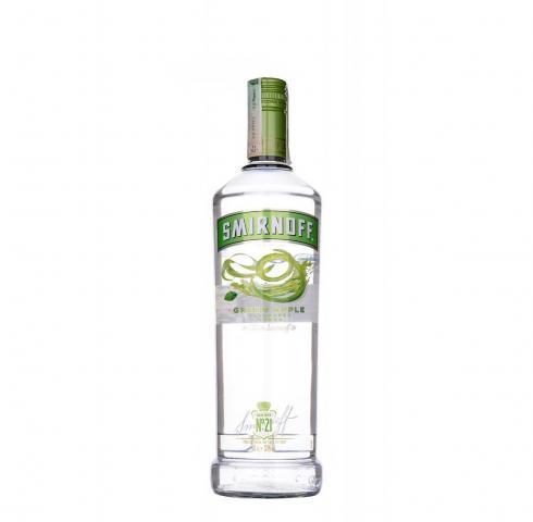 водка Смирноф 1л Зелена Ябълка