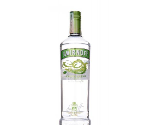 водка Смирноф 1л Зелена Ябълка p1