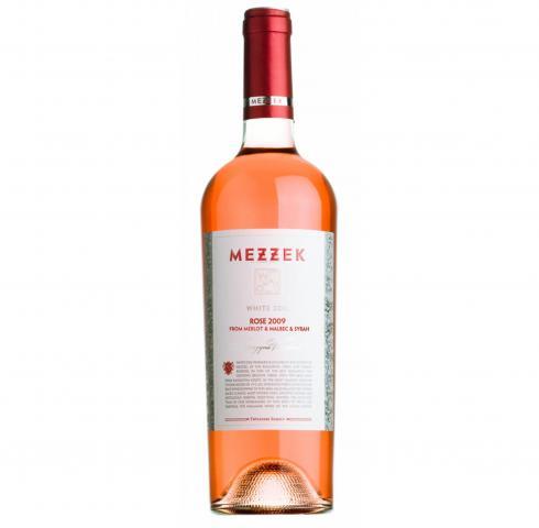Katarzyna Mezzek  White Soil 750ml Rose - Merlo&Malbec&Syrah 2009