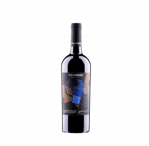 вино Контур 750мл Каберне Совиньон 2016г