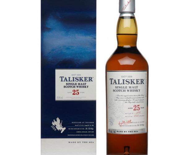уиски Талискер 700мл 25 годишен p1