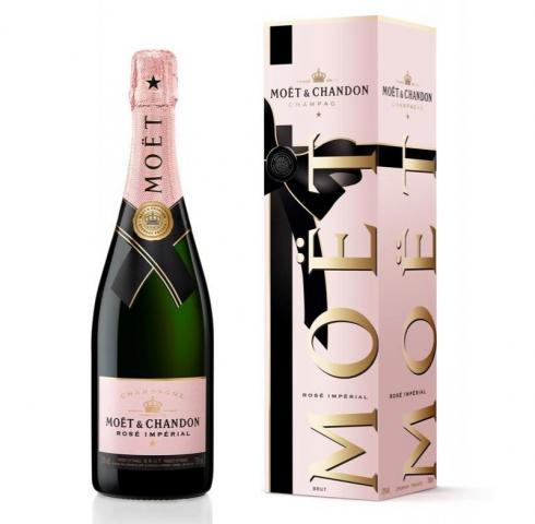 шампанско Моет и Шандон Империал 750мл Розе ПРАЗНИЧНА КУТИЯ 2019г