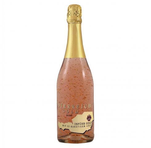 вино Йостерайх 750мл Голд Розе 23К злато