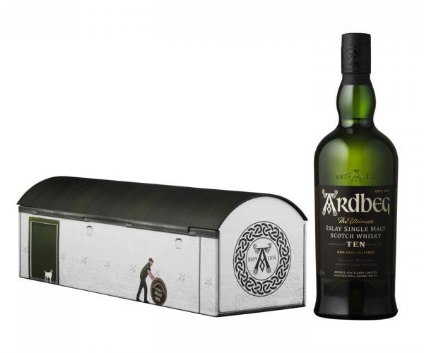 уиски Ардбег 700мл 10г празнична, колекционерска кутия p1