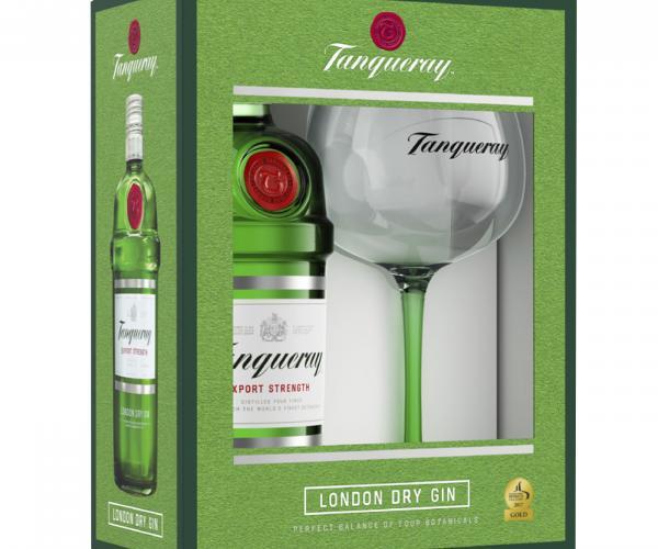 джин Танкюри 700мл с чаша Copa p1