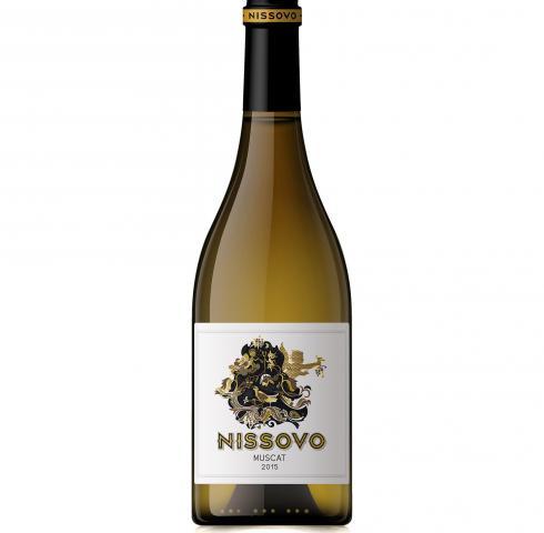 вино Нисово 750мл Мускат