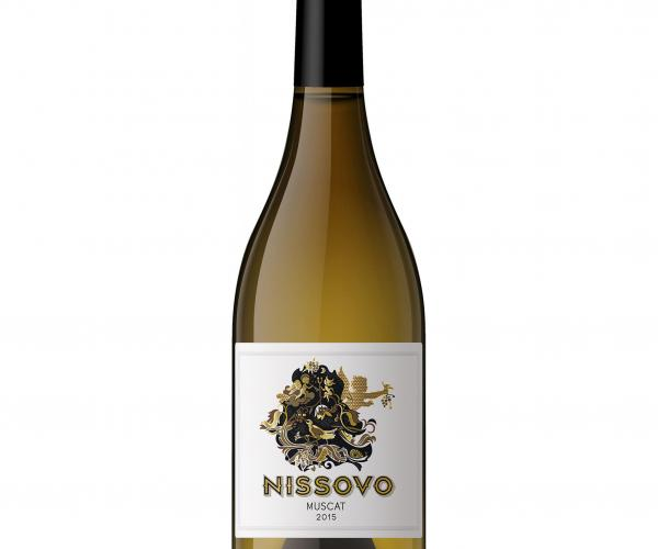 вино Нисово 750мл Мускат  p1