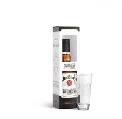 уиски Джим Бийм 700мл с чаша