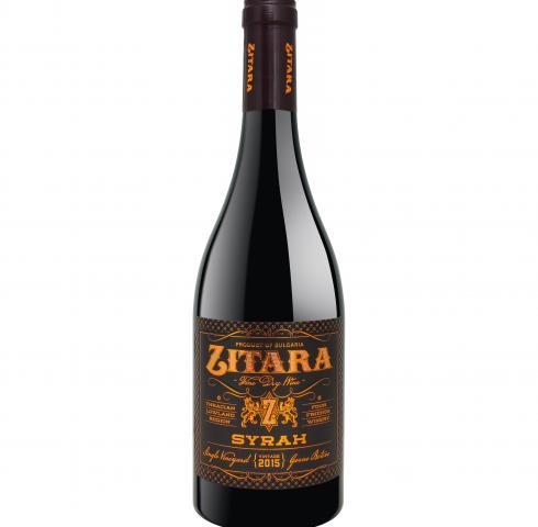 вино Зитара 750мл Сира 2016г
