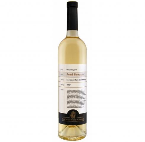 Pomorie Fyume Blanc 750ml. Sauvignon Blanc and Chardonnay