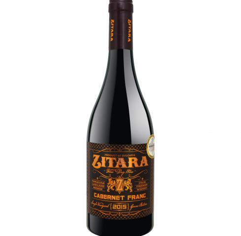 Вино Зитара 750мл Каберне Фран 2017г