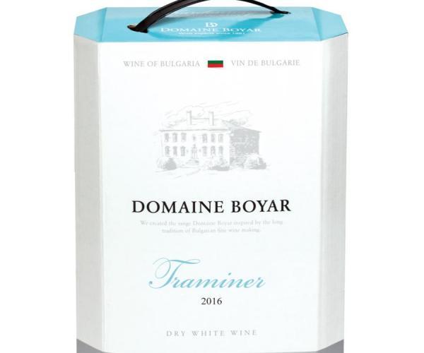 вино Домейн Бойар 3л Траминер p1