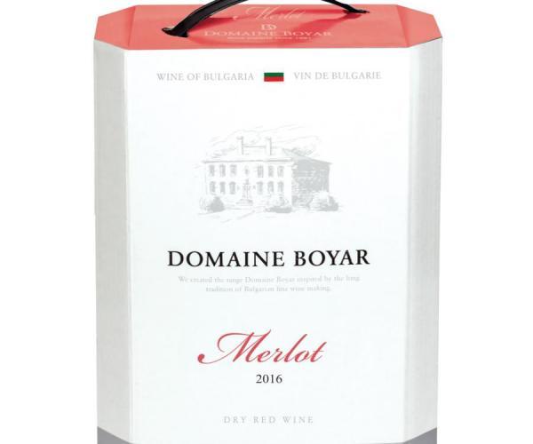 вино Домейн Бойар 3л Мерло p1