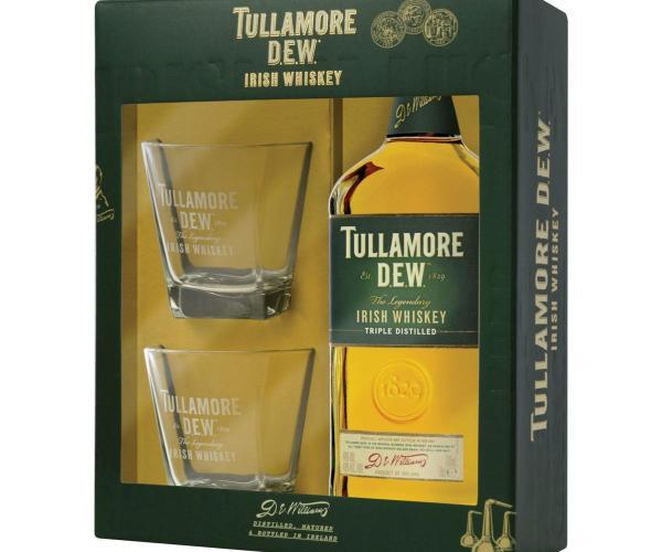 уиски Тюламор Дю 700мл с 2 чаши p1