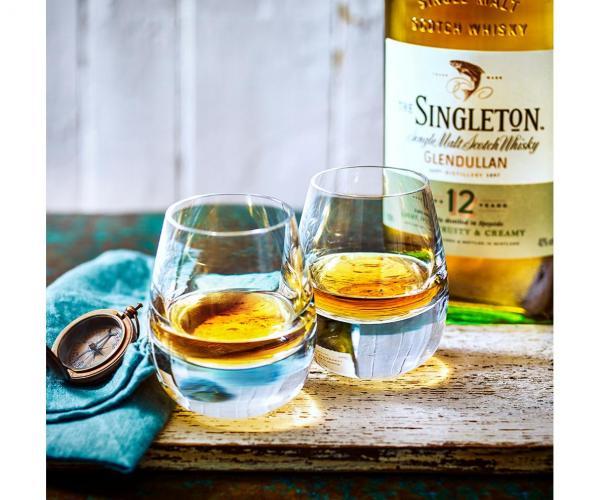 уиски Сингълтън 700мл Дъфтаун 12г сингъл малц с чаша и форма за лед p2
