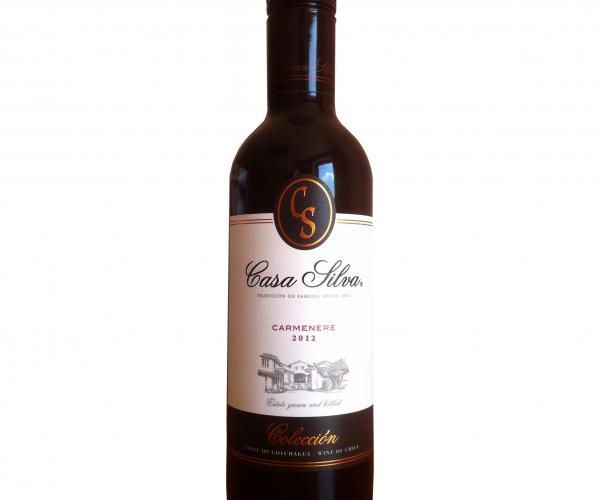 вино Каса Силва 0,375 мл Колекшън Карменер  p1