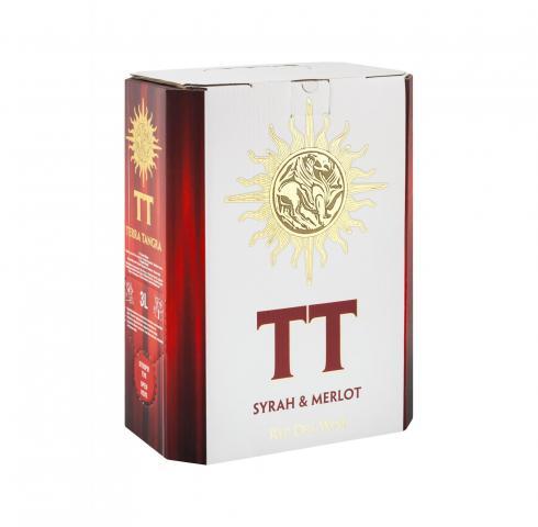 вино ТТ 3л Сира и Мерло