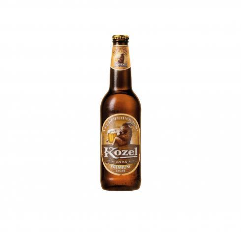 бира Козел бутилка 500мл светла