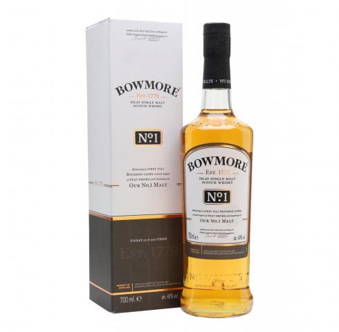 уиски Баумор 700мл №1 Сингъл Малц