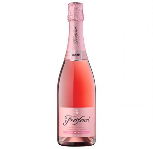 пенливо вино Фрешенет 750мл Кордон Розе