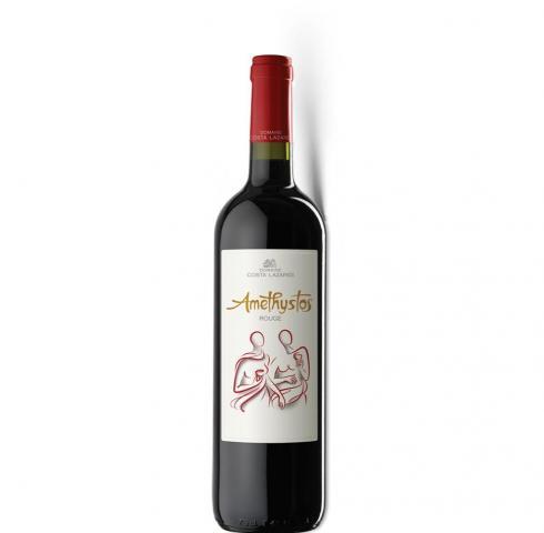 вино Аметистос 750мл Червено
