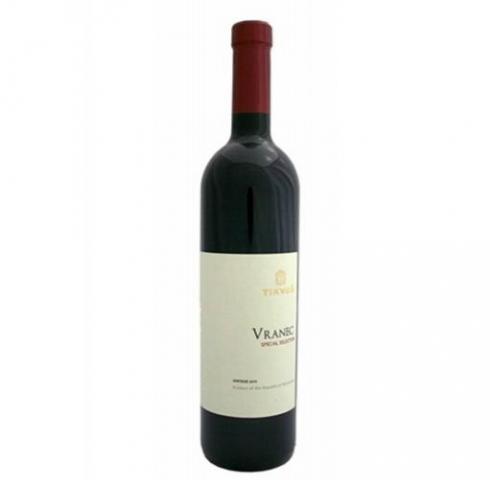 вино Тиквеш 750мл Вранец Специална Селекция