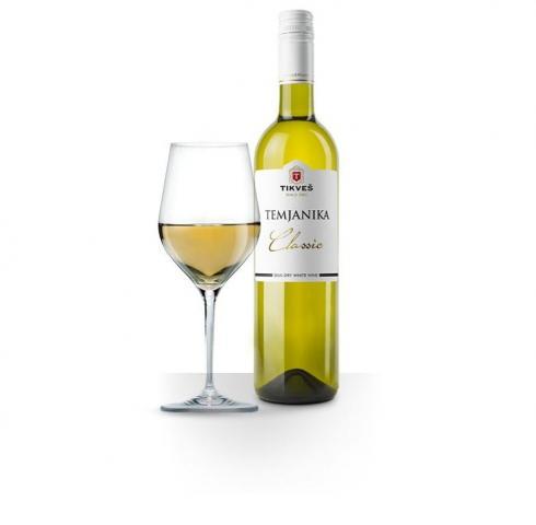 вино Тиквеш 750мл Тамянка Класик