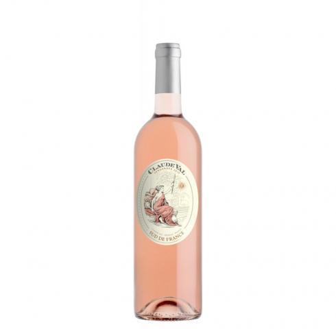 вино Клауди Вал 750мл Розе Гренаш и Консулт IGP