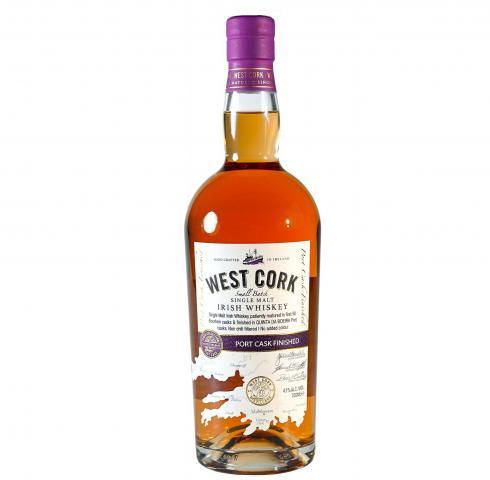 уиски Уест Корк 700мл 12г Порт Каск