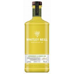 джин Уайтли Нейл 700мл Лимонена трева и джинджифил  m1
