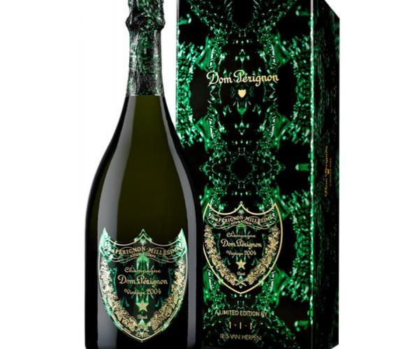 шампанско Дом Периньон 750мл Винтидж 2004 г. с кутия  p1