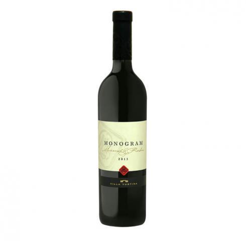 вино Вила Юстина Монограм 750мл Мавруд и Рубин