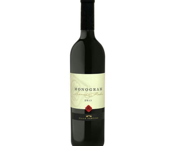 вино Вила Юстина Монограм 750мл Мавруд и Рубин  p1