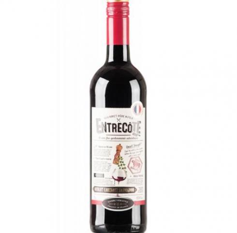 вино Антркот 750мл Мерло, Каберне и Сира
