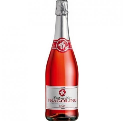 пенливо вино Дукеса Лиа Фраголино 750мл Розе
