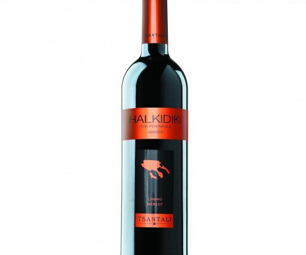 вино Халкидики 750мл Мерло p1