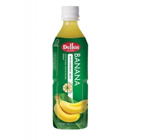 сок Делос 500мл Банан с парченца кокос