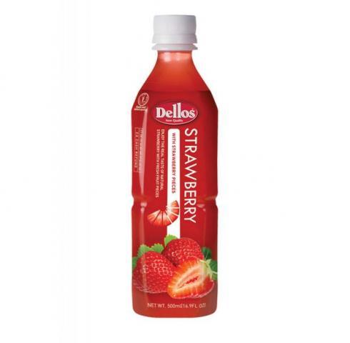 сок Делос 500мл Ягода с парченца ягода