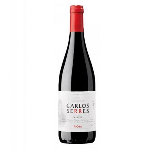 вино Карлос Серес 750мл Крианца Риоха 2015г