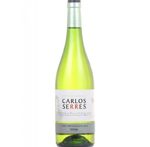 вино Карлос Серес 750мл Бяло Риоха 2018г