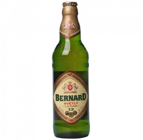 бира Бернард Светла 12 500мл Бутилка