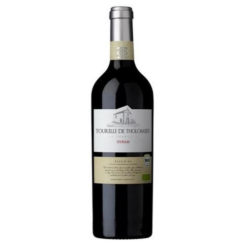 био вино Турел ду Толоми 750мл Сира Паи Д`ок АОР