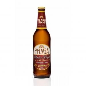 бира Прага 500мл Амбър Лагер бутилка  m1