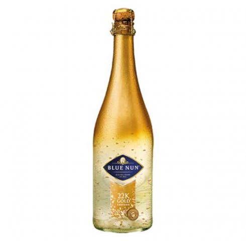пенливо вино Блу Нун 750мл 24К Голд Едишън
