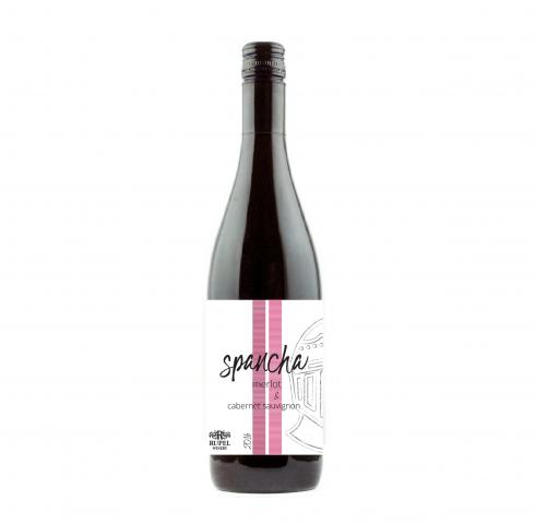 вино Рупел Спанча 750мл Каберне и Мерло