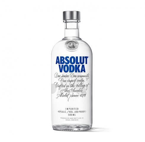 водка Абсолют 500мл Син