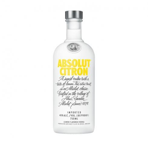 водка Абсолют 700мл Лимон